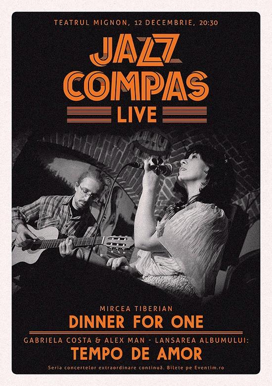 Jazz Compas LIVE 12 decembrie